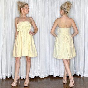 Polka Dot Bow Fit Flair Betsey Johnson Dress